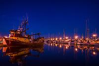 Fishermen's Terminal, Blue Hour