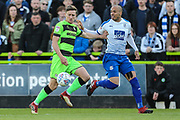 Forest Green Rovers Dayle Grubb(8) during the EFL Sky Bet League 2 second leg Play Off match between Forest Green Rovers and Tranmere Rovers at the New Lawn, Forest Green, United Kingdom on 13 May 2019.