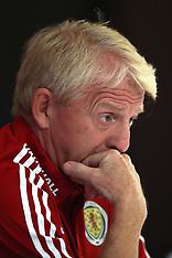 Gordon Strachan resigns as Scotland manager, 12 October 2017