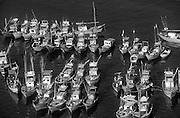A4.<br /> Fishing boats in Beruwela  harbour.