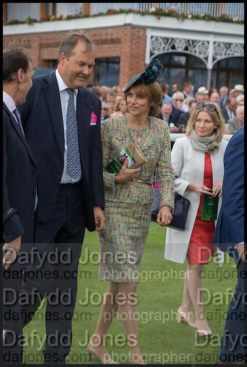 HARRY HERBERT; LADY CAROLYN WARREN, Ebor Festival, York Races, 20 August 2014