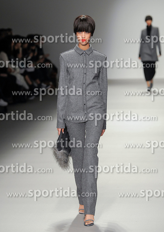 J JS Lee at London Fashion Week, 20-02-2015, England UK - b2511. EXPA Pictures &copy; 2015, PhotoCredit: EXPA/ Photoshot/ Mr Tickle<br /> <br /> *****ATTENTION - for AUT, SLO, CRO, SRB, BIH, MAZ only*****