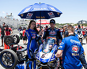 Jun 23  2018  Monterey, CA, U.S.A # 60 Michael van der Mark on the grid  during the Motul FIM World Superbike Race # 1 at Weathertech Raceway Laguna Seca  Monterey, CA  Thurman James / CSM