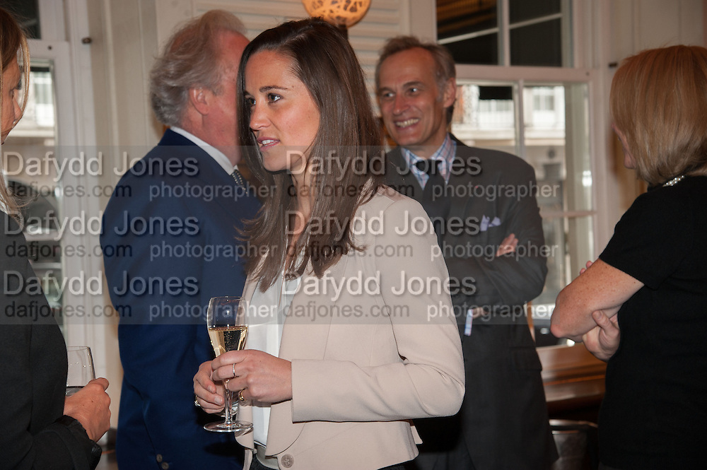 PIPPA MIDDLETON, Vanity Fair Lunch hosted by Graydon Carter. 34 Grosvenor Sq. London. 14 May 2013