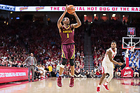 FAYETTEVILLE, AR - DECEMBER 9:  Dupree McBrayer #1 of the Minnesota Golden Gophers shoots a jump shot during a game against the Arkansas Razorbacks at Bud Walton Arena on December 9, 2017 in Fayetteville, Arkansas.  The Razorbacks defeated the Golden Gophers 95-79.  (Photo by Wesley Hitt/Getty Images) *** Local Caption *** Dupree McBrayer