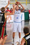DESCRIZIONE : Cagliari Torneo Internazionale Sardegna a canestro Belgio Italia <br /> GIOCATORE : Luca Infante <br /> SQUADRA : Nazionale Italia Uomini <br /> EVENTO : Raduno Collegiale Nazionale Maschile <br /> GARA : Belgio Italia Belgium Italy <br /> DATA : 14/08/2008 <br /> CATEGORIA : Tiro <br /> SPORT : Pallacanestro <br /> AUTORE : Agenzia Ciamillo-Castoria/S.Silvestri <br /> Galleria : Fip Nazionali 2008 <br /> Fotonotizia : Cagliari Torneo Internazionale Sardegna a canestro Belgio Italia <br /> Predefinita :