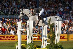 Alvarez Moya Sergio, (ESP), Carlo 273<br /> Individual competition round 3 and Final Team<br /> FEI European Championships - Aachen 2015<br /> © Hippo Foto - Dirk Caremans<br /> 21/08/15