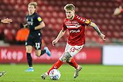 Middlesbrough defender Hayden Coulson (33) during the EFL Sky Bet Championship match between Middlesbrough and Charlton Athletic at the Riverside Stadium, Middlesbrough, England on 7 December 2019.