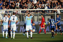 """Foto Filippo Rubin<br /> 07/04/2018 Ferrara (Italia)<br /> Sport Calcio<br /> Spal - Atalanta - Campionato di calcio Serie A 2017/2018 - Stadio """"Paolo Mazza""""<br /> Nella foto: DELUSIONE SPAL<br /> <br /> Photo by Filippo Rubin<br /> April 07, 2018 Ferrara (Italy)<br /> Sport Soccer<br /> Spal vs Atalanta - Italian Football Championship League A 2017/2018 - """"Paolo Mazza"""" Stadium <br /> In the pic: SPAL DISAPPOINTMENT"""