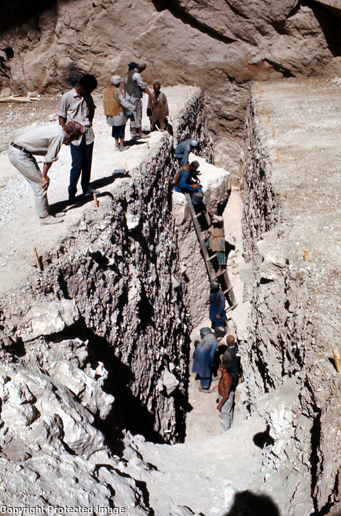 July 1969<br /> The trench was deep. <br /> Photo: Louis Dupree