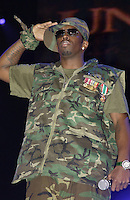 Sean 'P-Diddy' Combs performing on United We Stand: What More Can I Give? Concert. A music benefit in support of the recovery efforts from the September 11 attack on America.  The proceeds will go to various Relief Funds. October 21, 2001 (Jeffrey Snyder)