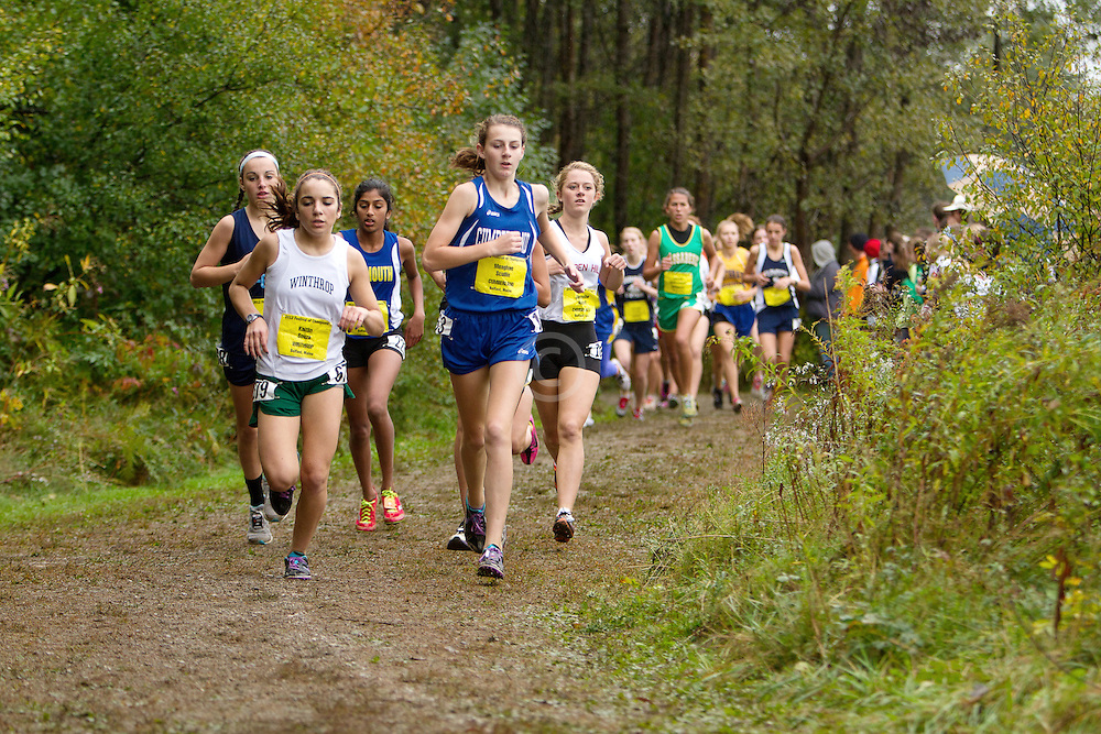 Festival of Champions High School Cross Country meet, Kaitlin Souza, Winthrop, Meaghan Scullin, Cumberland