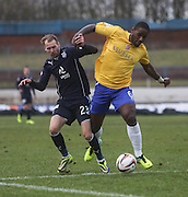 Martin Boyle and Nathaniel Wedderburn- Cowdenbeath v Dundee, SPFL Championship at Central Park<br /> <br />  - &copy; David Young - www.davidyoungphoto.co.uk - email: davidyoungphoto@gmail.com