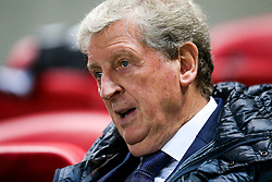 Crystal Palace Manager Roy Hodgson looks on - Rogan/JMP - 24/10/2017 - Ashton Gate Stadium - Bristol, England - Bristol City v Crystal Palace - Carabao Cup Round of 16.