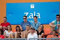 Spectators at Semifinal during Day Five of tennis tournament ATP Challenger Tilia Slovenia Open 2013 on July 6, 2013 in SRC Marina, Portoroz / Portorose, Slovenia. (Photo by Vid Ponikvar / Sportida.com)