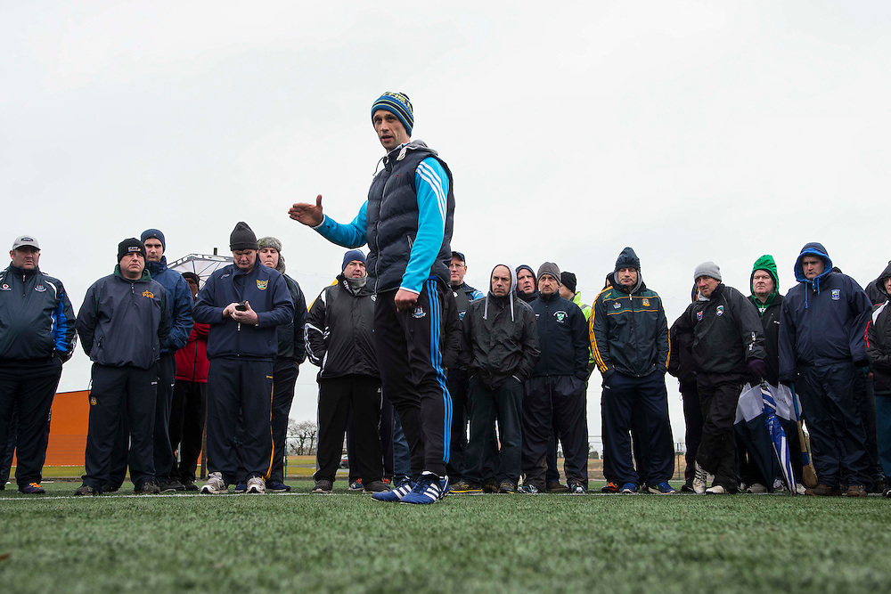 Hurling Coaching Conference at Meath Centre of Excellence, Dunganny, 20th February 2016<br /> Coach, Tommy Dunne (Tipperary) pictured at the Hurling Coaching Conference at Meath Centre of Excellence, Dunganny<br /> Photo: David Mullen /www.cyberimages.net / 2016
