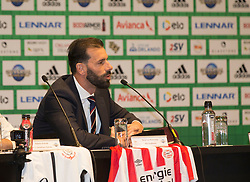 01/07/2018. Orlando, USA.  <br /> Press event to launch the 2018 Florida Cup.<br /> <br /> Dutch legend Ruud Van Nistelrooy. <br /> <br /> At  Universal Resort, Orlando.<br /> Pic: Mark Davison /PLPA