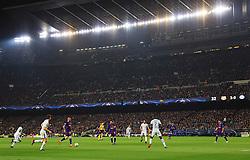 A general view as Aleix Vidal of Barcelona attacks - Mandatory by-line: Matt McNulty/JMP - 14/03/2018 - FOOTBALL - Camp Nou - Barcelona, Catalonia - Barcelona v Chelsea - UEFA Champions League - Round of 16 Second Leg