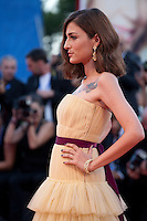 Eleonora Carisi at the premiere of the film The Light Between Oceans at the 73rd Venice Film Festival, Sala Grande on Thursday September 1st 2016, Venice Lido, Italy.