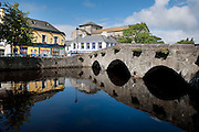 "The Carrowbeg River also known locally as ""The Mall"" in Westport, Co.Mayo the town who won the Best Places to Live in Ireland. Pic: Michael Mc Laughlin"