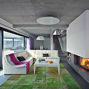 Modern house interior in Poland near Krakow Photography by Piotr Gesicki