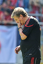 24.07.2010, Fritz-Walter Stadion, Kaiserslautern, GER, 1. FBL, Friendly Match, 1.FC Kaiserslautern vs FC Liverpool, im Bild Roy HODGSON (Trainer Liverpool), Freisteller, Einzelaktion / Aktion, Geste, EXPA Pictures © 2010, PhotoCredit: EXPA/ nph/  Roth+++++ ATTENTION - OUT OF GER +++++
