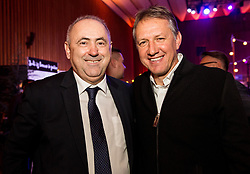 Radenko Mijatovic, president of NZS and Igor Benedejcic during Traditional New Year party of of the Slovenian Football Association - NZS, on December 20, 2018 in Gospodarsko razstavisce, Ljubljana, Slovenia. Photo by Vid Ponikvar / Sportida