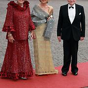 NLD/Apeldoorn/20070901 - Viering 40ste verjaardag Prins Willem Alexander, aankomst Koninging Beatrix, Carmen Zorrequieta, Jorge Zorrequieta
