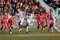 Casey LAULALA - 10.01.2015 - Toulon / Racing Metro - 16e journee Top 14<br />