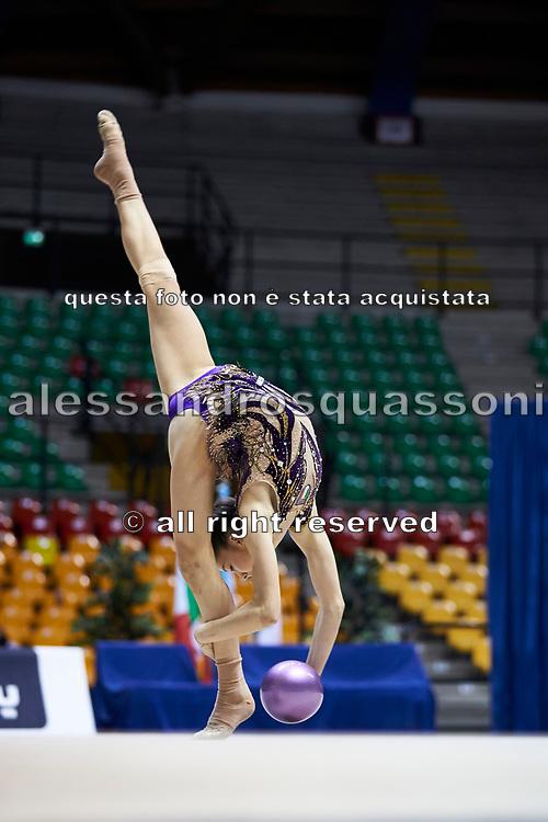 "Sofia Maffeis by team italia of rhythmic gymnastics  during the ""7th tournament city of Desio"", 09 March 2019."