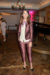 LAURA JACKSON at the 2016 Fortnum & Mason Food & Drink Awards held at Fortnum & Mason, Piccadilly, London on 12th May 2016.