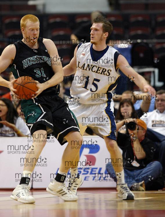 CIS Basketball Champioships-Ottawa, March 19, 2010, Windsor Lancers-Andre Smyth