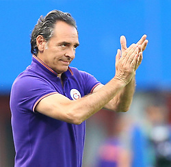 23.07.2014, Ernst Happel Stadion, Wien, AUT, Testspiel, SK Rapid Wien vs Galatasaray Istanbul, im Bild Cesare Prandelli, (Galatasaray Istanbul, Trainer) // during a Austrian Bundesliga Football test match between SK Rapid Vienna and Galatasaray Istanbul at the Ernst Happel Stadion, Wien, Austria on 2014/07/23. EXPA Pictures © 2014, PhotoCredit: EXPA/ Thomas Haumer