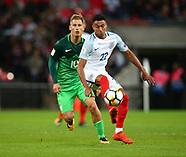 England v Slovenia - 05 Oct 2017