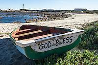 Coastal Fishers have a deep spiritual connection, Doringbaai, Western Cape, South Africa