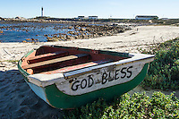 Coastal Fishers have a deep spiritual connection, Doringbaai, Western Cape, South Africa