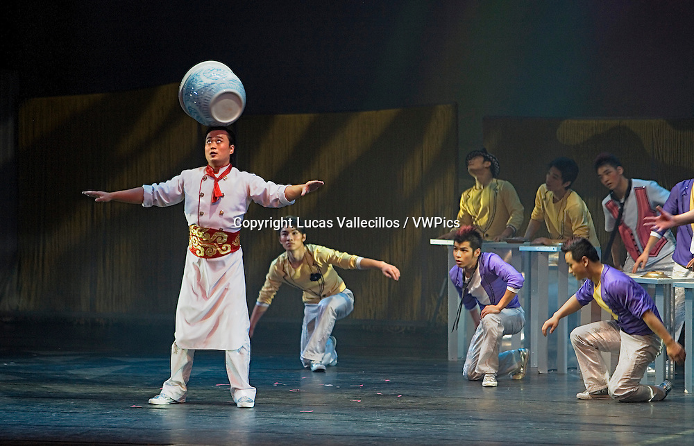 China.Shanghai: Acrobats' company of Shanghai. Shanghai Centre, 1376 Nanjing Xilu