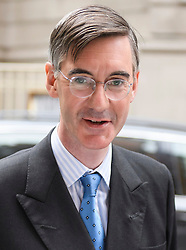 © Licensed to London News Pictures. 20/09/2018. London, UK.  Brexiteer JACOB REES-MOGG is seen in Westminster on September 20th, 2018. Photo credit: Ben Cawthra/LNP