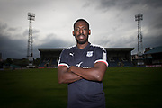 New Dundee FC signing Roarie Deacon pictured at Dens Park, Dundee, Photo: David Young<br /> <br />  - &copy; David Young - www.davidyoungphoto.co.uk - email: davidyoungphoto@gmail.com