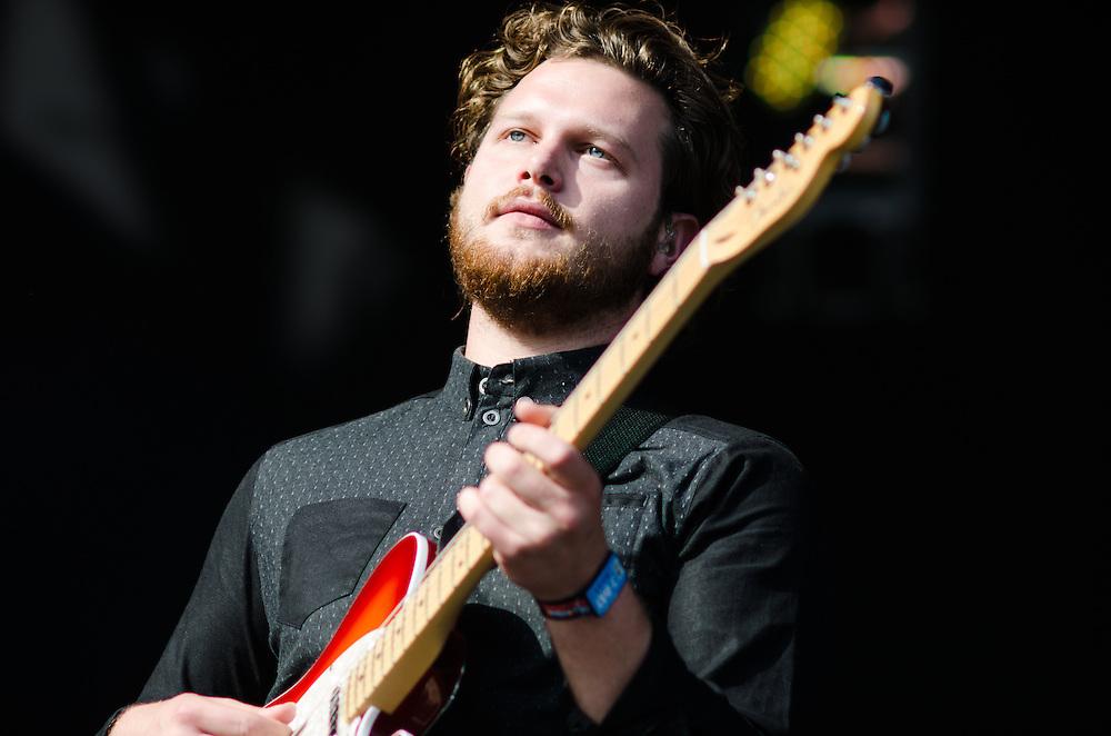 Joe Newman of Alt-J at Lollapalooza