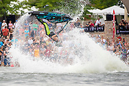 The Godrey Clan entertain fans at the Mastercraft Throwdown at Millennium Park in Grand Rapids, MI. ©Brett Wilhelm/ESPN