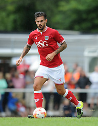 Marlon Pack of Bristol City - Photo mandatory by-line: Dougie Allward/JMP - Mobile: 07966 386802 - 05/07/2015 - SPORT - Football - Bristol - Brislington Stadium - Pre-Season Friendly