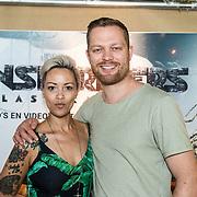 NLD/Amsterdam//20170621 - Premiere Transformers 3D: The Last Knight, Sonja Silva en Pyke Pos