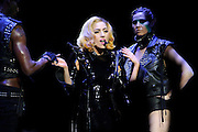 Lady Gaga performing at the Scottrade Center in St. Louis on July 17, 2010