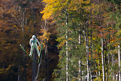 Jernej Damjan during Slovenian summer national championship and opening of the reconstructed Bloudek's hill in Planica on October 14, 2012 in Planica, Ratece, Slovenia. (Photo by Grega Valancic / Sportida)