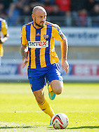 Alan McCormack of Brentford during the Sky Bet League 1 match at the Matchroom Stadium, London<br /> Picture by Mark D Fuller/Focus Images Ltd +44 7774 216216<br /> 15/03/2014