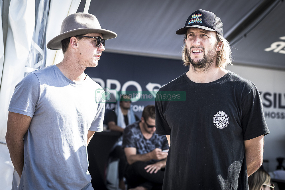 October 12, 2017 - Owen Wright (AUS)  before his heat of Round Two at Quiksilver Pro France 2017, Hossegor, France..Quiksilver Pro France 2017, Landes, France - 12 Oct 2017 (Credit Image: © WSL via ZUMA Press)