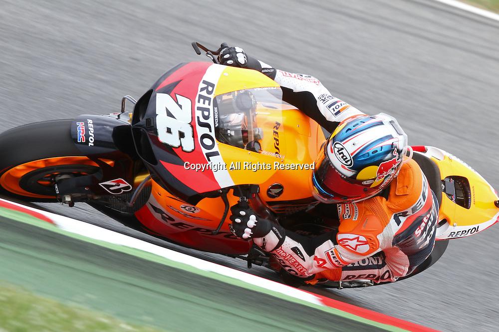 03.06.2012.  Barcelona, Spain. Aperol Catalunya Grand Prix, Race. Dani Pedrosa riding Honda at Circuit de Catalunya