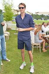 OTIS FERRY at the St.Regis International Polo Cup at Cowdray Park, Midhurst, West Sussex on 17th May 2014.