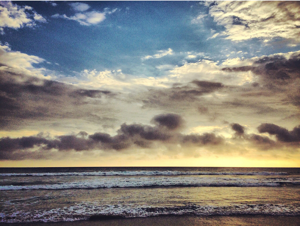 Ocean view from Del Mar, CA